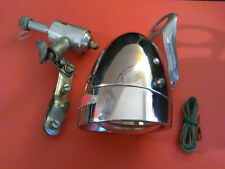 Vintage Dynamo bullet Headlight Made in Japan light chrome genarator working