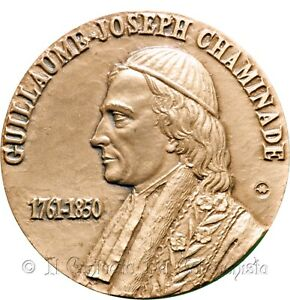 Guillaume-Joseph Chaminade Figlie Maria Immacolata Périgueux France Medal