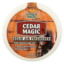 Citrus Magic Cedar Absorb Odor Solid Air Freshener 8 Ounce 6 per Case.