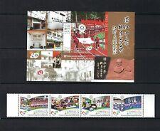 China Macau 2012 80th Founding of Hou Kong Middle School stamps set