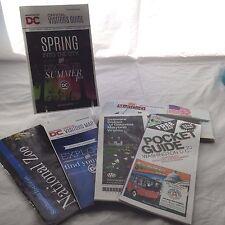 Old Maps Ephemera Washington Dc Va Md State Highway Tour Guides Travel Brochure