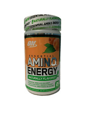 Optimum Nutrition Naturally Flavored AMINO ENERGY, 25 Servings SIMPLY PEACH TEA