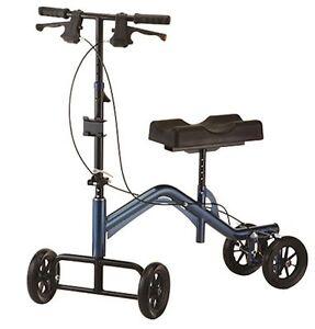Nova TKW-14 Tall Heavy Duty 400 lbs Turning Knee Crutch Walker Scooter Leg Caddy