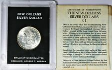 Brilliant Uncirculated New Orleans 1883 Morgan Silver Dollar Designer George M