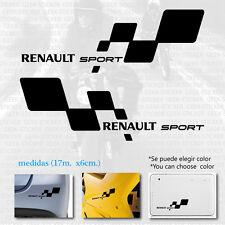 renault sport car moto Pegatina tuning pegatina sticker Aufkleber autocollant