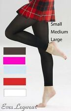 Silky Ladies Women's Soft Opaque Footless Tights 70 Denier Small Medium Large M