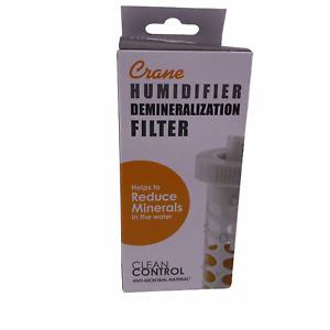 Crane Humidifier Demineralization Filter Cartridge HS1932 Clean Control NEW