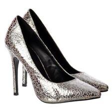 Evening & Party Slim Court Wet look, Shiny Heels for Women