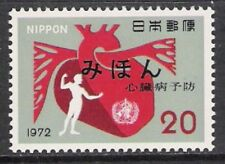 Japan #1112 World Health Day Mihon MNH