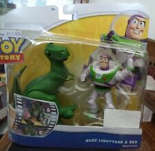 TOY STORY BUZZ LIGHTYEAR & REX FIGURES 2-PACK BBP12 *NEW*