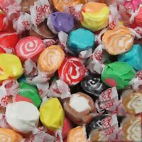 GOURMET ASSORTED Salt Water Taffy Candy TAFFY TOWN 1/4 LB  to 10 LB BAG