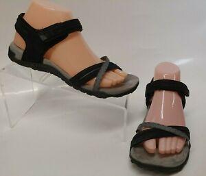 Merrell Terran Cross II Black Sport Sandals Women's Shoes Size 7 J55306