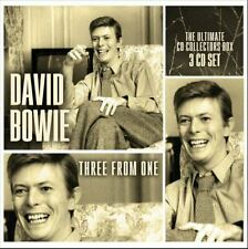 DAVID BOWIE THREE FROM ONE 3CD SET OF FASCINATING DAVID BOWIE RARITIES Pre-Order