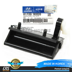 ⭐OEM⭐ Tailgate Trunk Hatch Handle for 07-11 Hyundai Accent Hatchback 817201E020