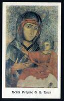 SANTINO Madonna  Holy Card  Image Pieuse  Beata Vergine di San Luca
