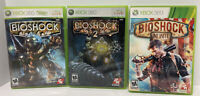Bioshock 1 & 2 and Infinite Lot Bundle (Xbox 360). 3 games.