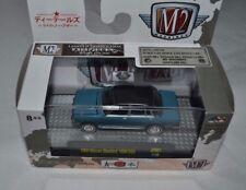 2017 M2 MACHINES AUTO JAPAN 1969 NISSAN BLUEBIRD 1600 SSS BLUE JPN01