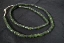 Ancienne perles de Verre Krobo 80 cm old African Trade Beads Ghana Powa Afrozip