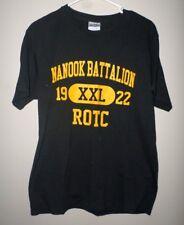 NANOOK BATTALION med T shirt est 1922 University of Alaska Fairbanks ROTC tee