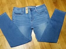 American Eagle Jegging Jeans Size 14 L Long Low Rise Super Stretch X NWT