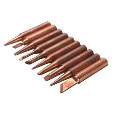 900M-T Soldering Tip Pure Copper Electric Iron Head Series Solder Tool 10pcs/Set