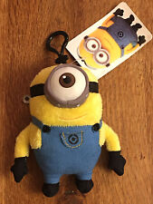 Despicable Me Minions Plush Coin Purse w/Clip