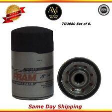 Oil Filter Set of 6 For: GMC K1500 Chevrolet S10 Jimmy 3.1L 4.3L 5.0L 5.7L