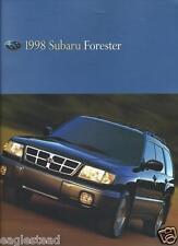 Auto Brochure - Subaru - Forester - 1998 (AB703)