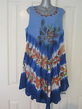 Unbranded Summer/Beach Floral Plus Size Dresses for Women