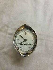 Maserati 4200 GT Coupe Analogue Clock P/N383600119. Spares/Repairs (see below)