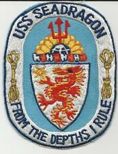 USS Seadragon SSN-584  (US Navy Ship's Patch) (1978)