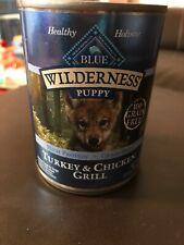 Blue Buffalo Wilderness High Protein Grain Free,Puppy Wet Dog Food, (11) 12.5-Oz