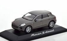 1:43 Minichamps Porsche Macan S Diesel 2013 greymetallic
