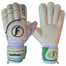Foxon Goalkeeper Goalie Football Gloves Roll Finger Saver  Soccer Glove Size 6