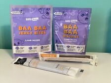 New listing New BarkBox Bark Box Lot Dog Treats Baa Biscuits Jerky Bites Chew Bar Stick