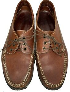 VTG GAP Mens 10.5 D Leather Moccasins Loafers Driving Shoes Amazonas 80s 90s