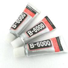 LOT de 3 TUBES DE COLLE 3ML pour BIJOUX B6000 TRANSPARENT CABOCHONS EMBOUTS