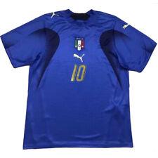 Maglia ITALIA Mondiale 2006 maglietta calcio retro vintage Campione del Mondo