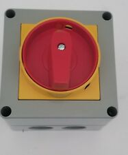 Lovato 7GN2510P25 ROTARY CAM SWITCH GN SERIES P25 VER IN ENCLOSURE WITH PADLOCK