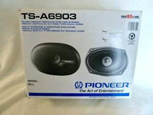 Pioneer Automobile Speakers TS A6903, Vintage, Never Removed from Box, 80 Watts
