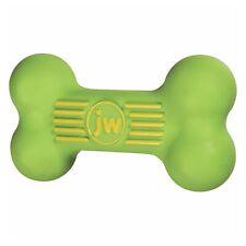 JW PET ISqueak Squeaker Dog Puppy Fetch Chew Toy LARGE BONE 8 inch