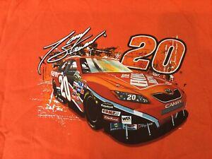 Vintage NASCAR Shirt Tony Stewart Home Depot Racing Tee Shirt New Large NOS
