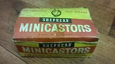 2 Shepherd No. 46 Push in Minicastors made by Kenrick, in original box chair bed
