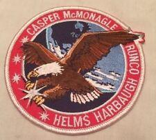 NASA Endeavour STS-54 Embrdered PATCH Casper McMonagle Helms Harbaugh Runco NEW