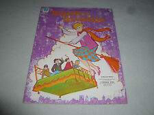 VINTAGE BEDKNOBS AND BROOMSTICKS PAPER DOLL DOLLS WHITMAN BOOK 1971 WALT DISNEY