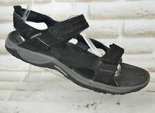 MERRELL TERRAPIN Mens Black Sport Sandals Walking Shoes Summer Size 12 UK 46 EU