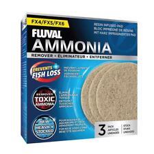 Fluval FX4/FX5/FX6 Ammonia Remover Pad x3 **GENUINE FLUVAL MEDIA**