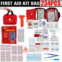 234Pcs SOS Emergency Camping Survival Equipment Outdoor Gear Tactical Tools US