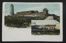1907 Brocken Germany To Skive Denmark Lighthouse Illustrated Postcard