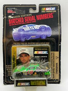 1995 Racing Champions NASCAR Matched Serial Number #18 Bobby Labonte Interstate